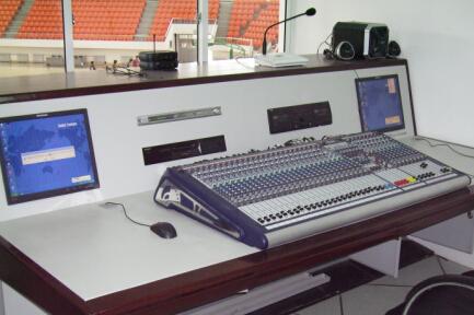 河北科技大学体育场与体育馆扩声系统插图1