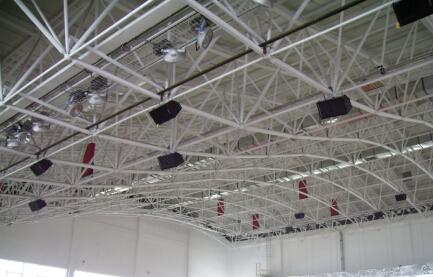 河北科技大学体育场与体育馆扩声系统插图