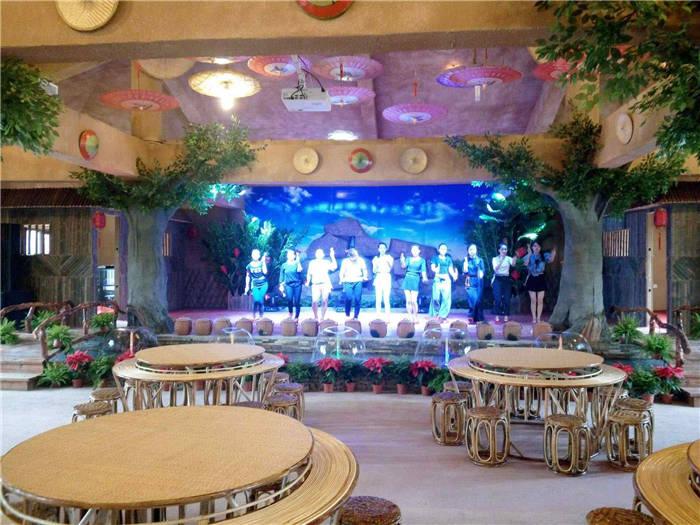 满城花腰恋歌主题餐厅户外扩声、多功能厅投影及灯光辅材设备项目插图