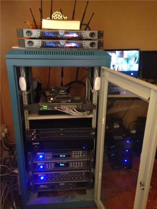 慈玉济寺:背景音乐系统、扩声系统、监控系统、视频系统及LED屏项目插图