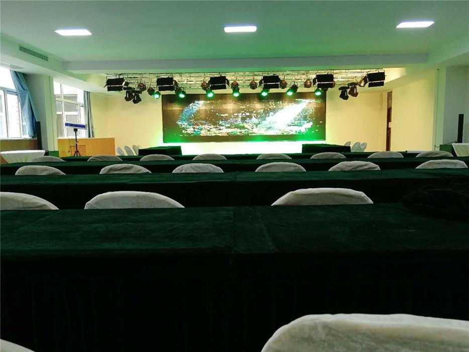石家庄职业技术学院~实训礼仪教室的专业舞台灯光、音响、LED全彩屏、数字影音系统及弱电综合布线等项目插图(1)