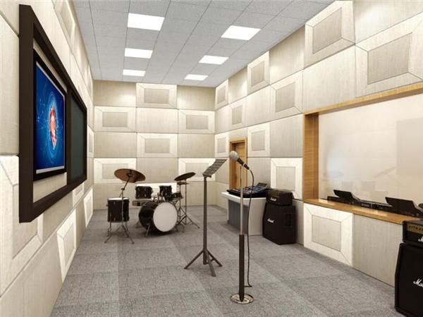 陆军步兵学院录音室设备安装完工插图2