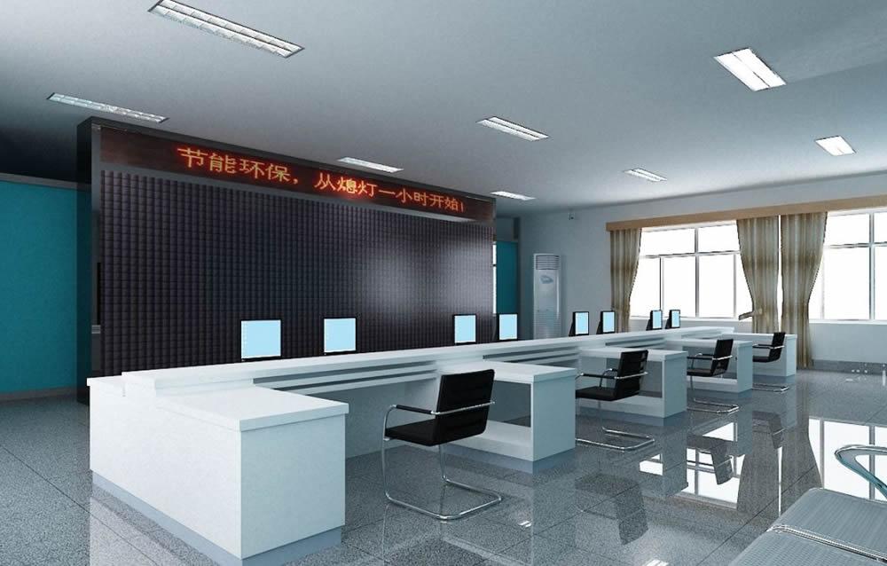 新乐市电力局多功能馆及会议室舞台灯光,音响、机械及扩声系统插图